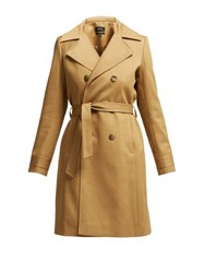 A.P.C. Alexis Belted Cotton Trench Coat Beige