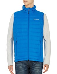 Gaiam Voodoo Falls Down Puffer Vest Super Blue