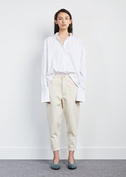 Nehera Paolo Thick Cotton Denim Pant Light Ivory