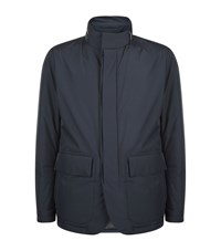 Boss Candor Two Pocket Jacket Male Navy