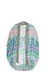 Camilla Silk Cardigan Multi
