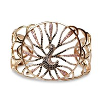 Bellus Domina Peacock Bracelet Rose Gold