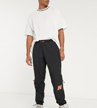 New Balance Utility Pack Woven Logo Utility Joggers In Black Exclusive To Asos