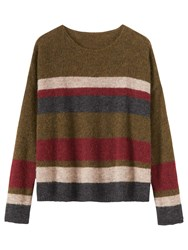 Toast Stripe Gauzy Jumper Multi