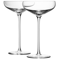 Lsa International Wine Champagne Saucers Set Of 4