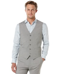 Perry Ellis Travel Luxe Wide Striped Vest
