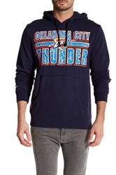 Mitchell And Ness Nba Thunder Hooded Pullover Multi