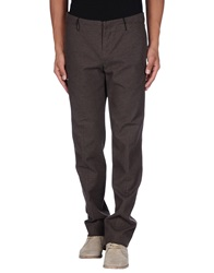 Individual Sentiments Casual Pants Dark Brown