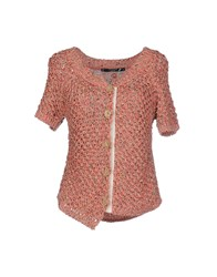 Cristinaeffe Collection Knitwear Cardigans Women Coral