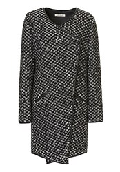 Betty Barclay Textured Knit Coat Black