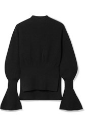 Alexander Wang Ribbed Knit Sweater Black