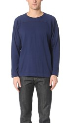 Chimala Long Sleeve Wide Tee Navy