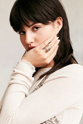 Urban Outfitters Mariah Butterfly Ring Gold