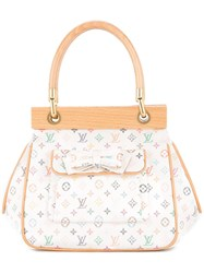 Louis Vuitton Vintage Abelia Hand Bag White