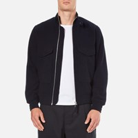 Universal Works Men's Aviator Jacket Navy Blue