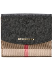 Burberry House Check Wallet Brown