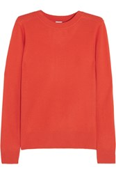 Iris And Ink Rib Detailed Cashmere Sweater Red