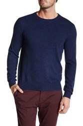 Qi Cashmere Crew Neck Sweater Red