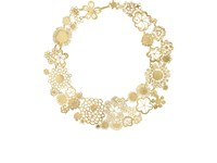 Judy Geib Flowery Erewhon Collar Necklace No Color