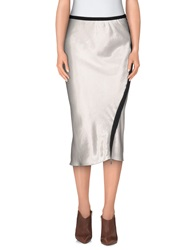 Schumacher 3 4 Length Skirts Light Grey