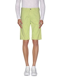 Dirk Bikkembergs Trousers Bermuda Shorts Men Light Green