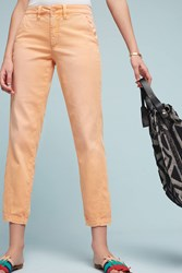 Anthropologie Relaxed Chino Pants Peach