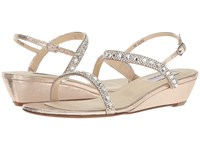 Touch Ups Jasmine Champange Shimmer Women's Shoes Silver