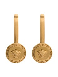 Versace Gold Medusa Hair Clips Metallic