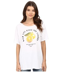 Bench Pinetrees Top Bright White Women's Clothing