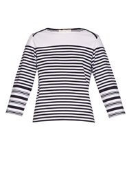 Stella Mccartney Breton Multi Striped Cotton Top
