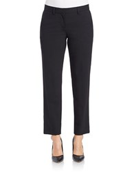 Dkny Cropped Dress Pants Black