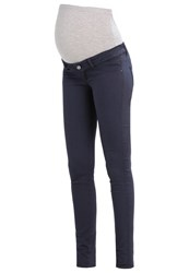 Mamalicious Mlelly Slim Fit Jeans Ombre Blue Dark Blue