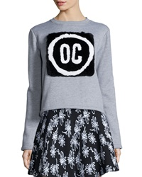 Opening Ceremony Oc Rabbit Fur Pullover Sweatshirt
