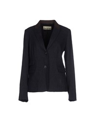 Closed Suits And Jackets Blazers Women Dark Blue