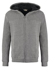 Solid Dayton Cardigan Grey Melange Light Grey