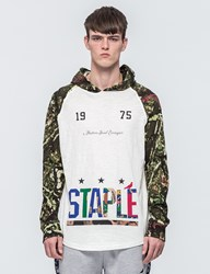 Staple Forest Camo Hooded T Shirt