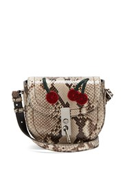 Altuzarra Ghianda Mini Python Cross Body Bag