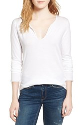 Zadig And Voltaire Women's Tunisien Skull Tee Blanc