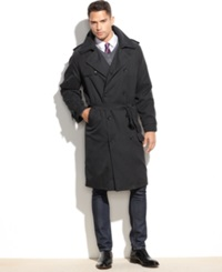 London Fog Iconic Belted Big And Tall Trench Raincoat