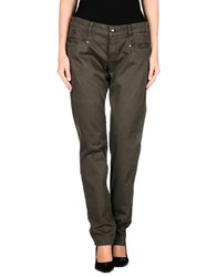 Harmontandblaine Trousers Casual Trousers Women Dark Green