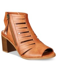 Easy Street Shoes Karlie Sandals Women's Tan Burnish