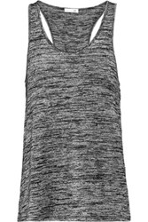 Rag And Bone Twist Back Stretch Jersey Tank Anthracite