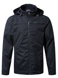 Craghoppers Men's Spelton Waterproof Jacket Blue Jaspe Dark Navy Blue Jaspe Dark Navy