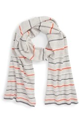 Halogen Wool And Cashmere Scarf Gray