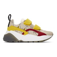 Stella Mccartney Beige And Yellow The Beatles Edition Submarine Eclypse Sneakers
