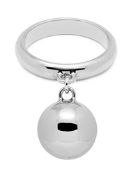 Maria Francesca Pepe H Oops Charm Ring Silver