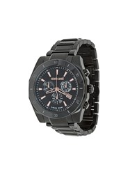 Roberto Cavalli Franck Muller Chronograph Watch Stainless Steel Black
