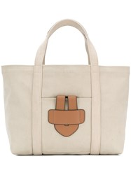 Tila March Simple Bag L Tote Bag Nude And Neutrals