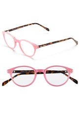 Women's Lilly Pulitzer 'Oasis' 45Mm Reading Glasses Hibiscus Pink Pink Tortoise