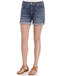 7 For All Mankind Relaxed Fit Denim Shorts